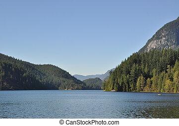 vacker, beskaffenhet landskap