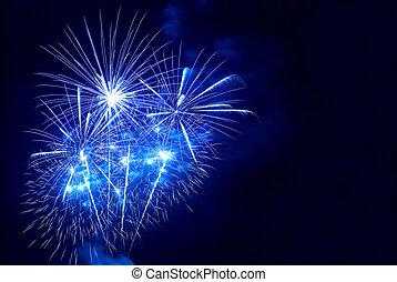 vacker, fireworks