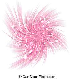 vacker, glöd, abstrakt, vektor, bakgrund