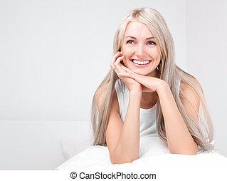 vacker kvinna