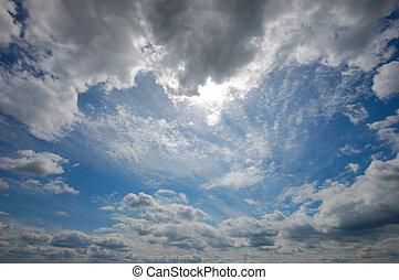 vacker, sky