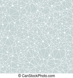 vacker, starry, illustration, polygonal, vektor, natt, konstellation