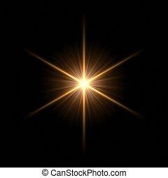 vacker, stjärna