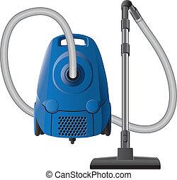 Vacuum cleaner - Blue original vacuum cleaner with hose and...