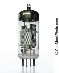 Vacuum tube closeup