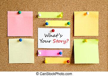 vad är, din, berättelse, text, begrepp