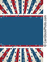 vaderlandslievend, achtergrond, vlag, amerikaan