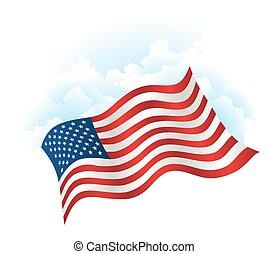 vaderlandslievend, dag, achtergrond, onafhankelijkheid