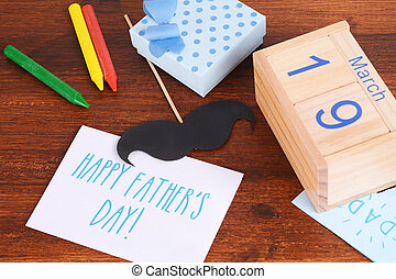 vaders dag, samenstelling