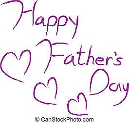 vaders, type, dag, vrolijke