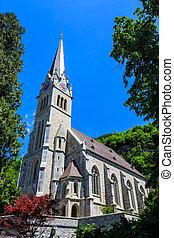 Vaduz Cathedral, or Cathedral. - Vaduz Cathedral, or ...