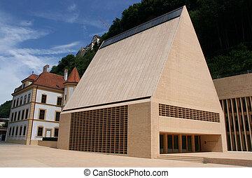 Vaduz, Liechtenstein - The Diet (Landtag) is the parliament ...