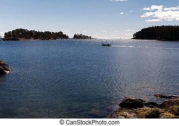 vaenern, lago, suecia