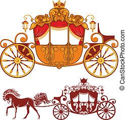vagn, kunglig