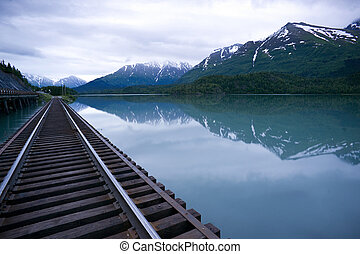 Vagt Lake Alaska North America