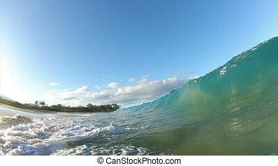 vague océan