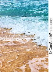vagues, océan