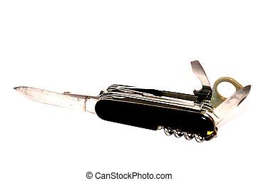 vagy, kés, kések, kempingező, multi-tool