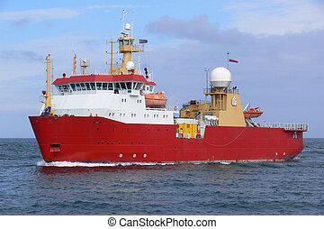 vaisseau, a1, antarctique