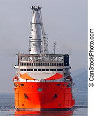 vaisseau, a3, mer
