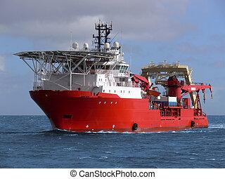 vaisseau, c1, mer