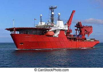 vaisseau, mer, d1
