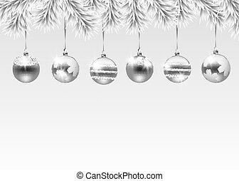 vakantie, kerstmis, illustratie