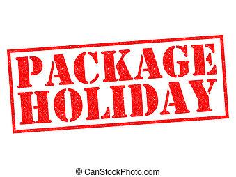 vakantie, verpakken