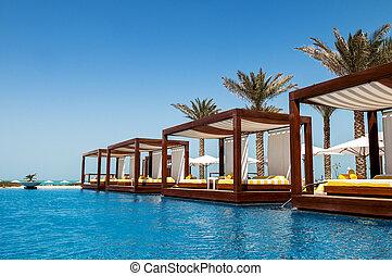 vakantiepark, luxe, plek