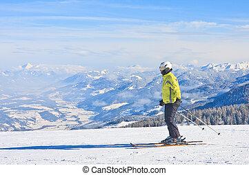 vakantiepark, oostenrijk, schladming, ski