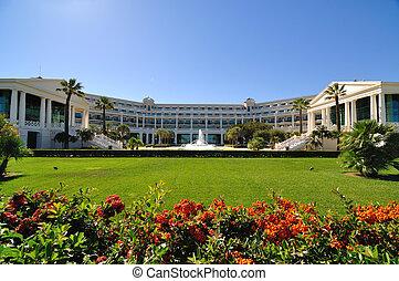 vakantiepark, tuinen, luxe