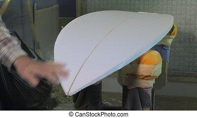 vakman, shaper, van, surfboards