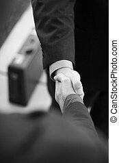 vakmensen, schuddende handen