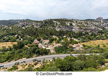 Val d'Efner, Les Baux de Provence, Bouches-du-Rhone, Provence, France