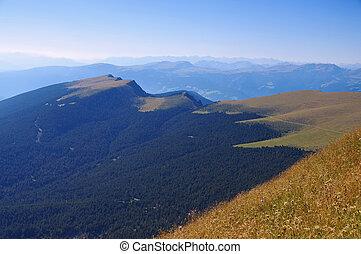 Val Gardena in Alps