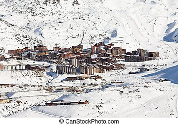 Val Thorens alpine ski resort