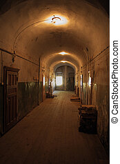 Valaam monastery. Interior. Corridor. - Valaam monastery....