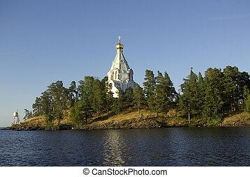 Valaam Monastery - The monastery on Valaam Island in Karelia