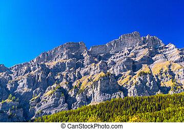 valais, leuk, góry, wallis, szwajcarski, swit, visp,...
