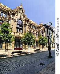 Valdez Palace, Aviles, Spain - photo was taken during the ...