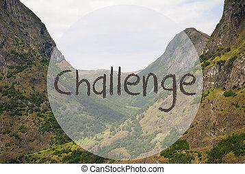 vale, e, montanha, noruega, texto, desafio