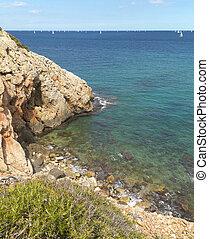 VALENCE, méditerranéen, espagne,  Alicante, côte
