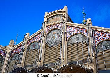Valencia Mercado Central market in Spain