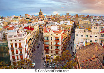 Valencia Old Town, Spain