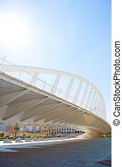 Valencia puente de Exposicion bridge in Alameda