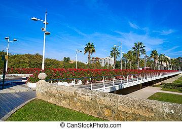 Valencia Puente de las Flores flowers bridge