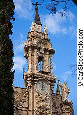 Valencia Santos Juanes church facade Spain - Valencia Santos...