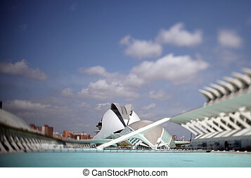 valencia science centre - The city of science and arts, La...