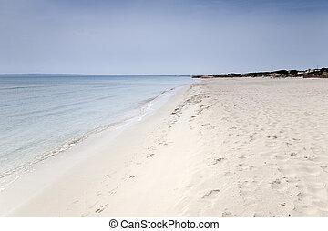 Valencians Beach; Formentera; Balearic Island