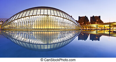 Valencia's City of Arts and Science Museum